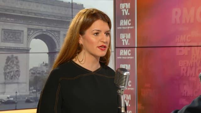 Marlène Schiappa sur BFMTV et RMC le 17 mai.