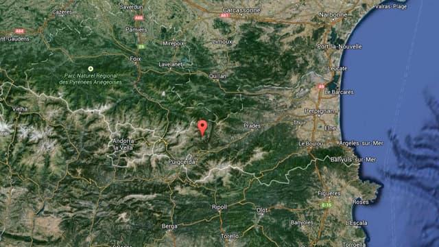 La station des Angles, à 90 km de Perpignan.