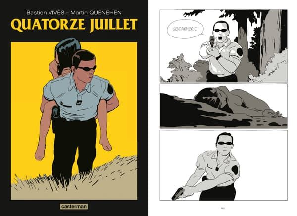 Quatorze Juillet, la nouvelle BD de Bastien Vivès.