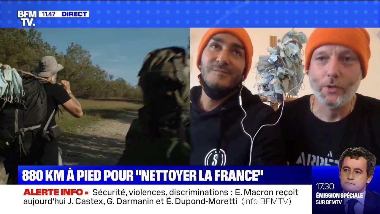 De Marseille à Paris, ils ramassent plus de 6000 masques jetés par terre