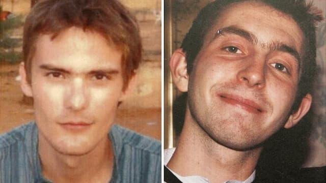 La polémique sur la mort de deux otages français, Antoine de Léocour (à gauche) et Vincent Delory, enlevés au Niger et tués lors d'une intervention de l'armée française pour les délivrer a rebondi vendredi avec la publication d'un témoignage et des demand