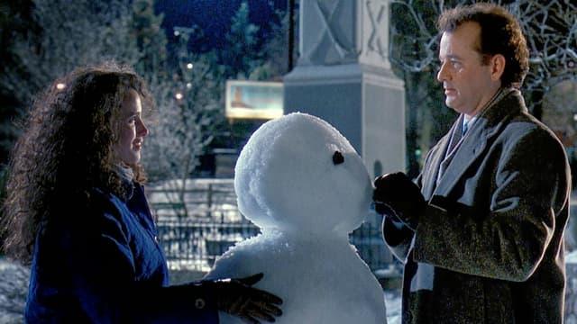"Bill Murray et Andie MacDowell dans ""Un jour sans fin"" (1993)"