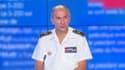 Le contre-amiral Jacques Fayard, chef des opérations d'évacuation en Afghanistan, le 31 août 2021 sur BFMTV