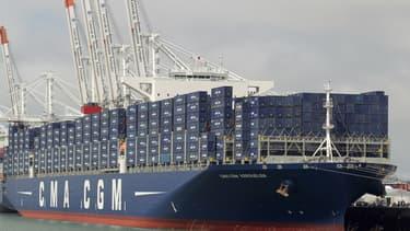 Le groupe français CMA CGM est l'un des leaders mondiaux du transport maritime par conteneurs.