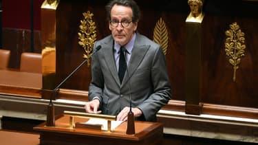 Gilles Le Gendre à l'Assemblée nationale le 28 avril 2020.