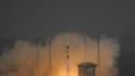 La fusée russe Soyouz a décollé vendredi du centre spatial de Kourou, en Guyane, avec à son bord deux satellites de Galileo, le programme de géolocalisation européen appelé à offrir à l'Europe son indépendance par rapport au GPS américain. /Photo prise le