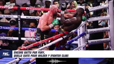 Retraite, catch, Joshua... Encore battu par Fury, quelle suite pour Wilder ? (Fighter Club)