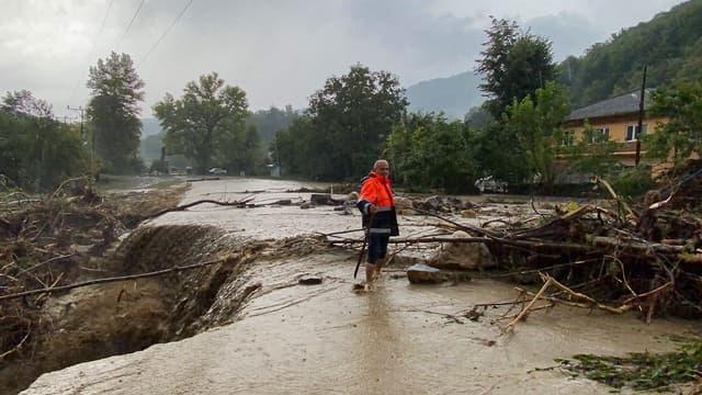 Les inondations en Turquie le 11 août 2021.