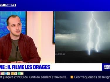 Mathieu Brochier, chasseur d'orages, invité de Bonjour Lyon