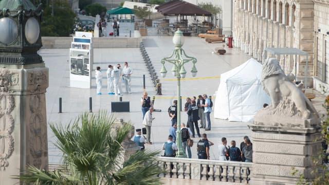 Deux jeunes filles ont été tuées à la gare Saint-Charles à Marseille.