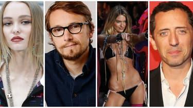 Lily Rose Depp, Laurent Deutsch, un top de Victoria's Secret et Gad Elmaleh
