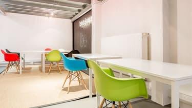L'espace de coworking la Jonquière dans le 17e arrondissement de Paris