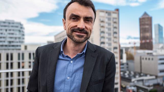 Gregory Doucet, candidat EELV à Lyon.