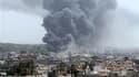 Les avions de l'Otan ont frappé mardi par vagues régulières des cibles à Tripoli. La capitale libyenne n'avait jamais subi de bombardements d'une telle intensité depuis le début des raids occidentaux contre le régime du colonel Kadhafi, en mars. /Photo pr