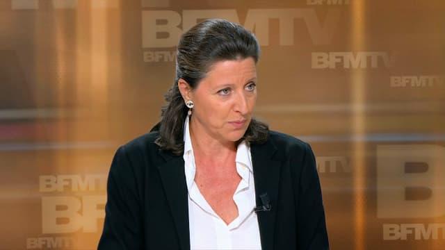La ministre des Solidarités et de la Santé Agnès Buzyn, jeudi 14 septembre 2017 sur BFMTV.