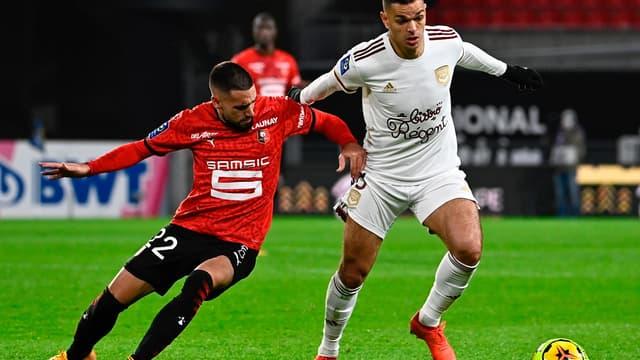 Hatem Ben Arfa lors de Rennes-Bordeaux