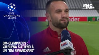 """OM-Olympiacos : Valbuena s'attend à un """"OM revanchard"""""""