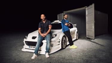 """Taxi 5"" avec Malik Bentalha et Franck Gastambide -"