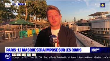 Paris: le masque bientôt imposé sur les quais de Seine
