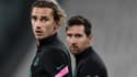 Antoine Griezmann et Lionel Messi