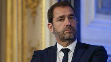 Christophe Castaner, secrétaire d'Etat aux relations avec le Parlement et délégué général de La République en marche, le 12 juillet 2017.