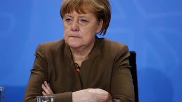 Angela Merkel a exprimé son soutien à Mario Draghi.