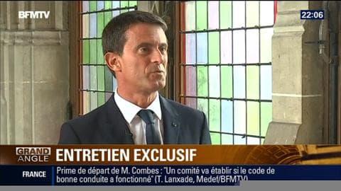 Edition spéciale Calais: Manuel Valls annonce la création d'un camp de 1500 places