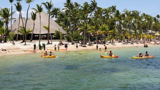 Une plage de Punta Cana en République dominicaine, le 2 août 2019. (Photo d'illustration)