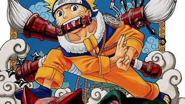 Couverture du premier tome de Naruto