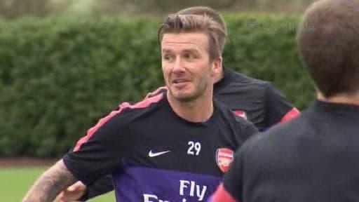 David Beckham a signé jeudi avec le PSG.