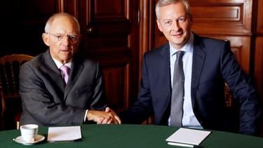 Bruno Le Maire, le ministre français de l'Économie, a convaincu son homologue allemand Wolfgang Schaüble ainsi que l'Italie et l'Espagne d'adopter une proposition commune sur la fiscalité des Gafa. (image d'illustration)
