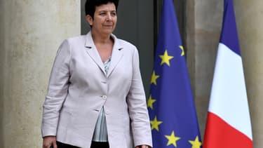 Frédérique Vidal, la ministre de  l'Enseignement supérieur, de la Recherche de l'Innovation.