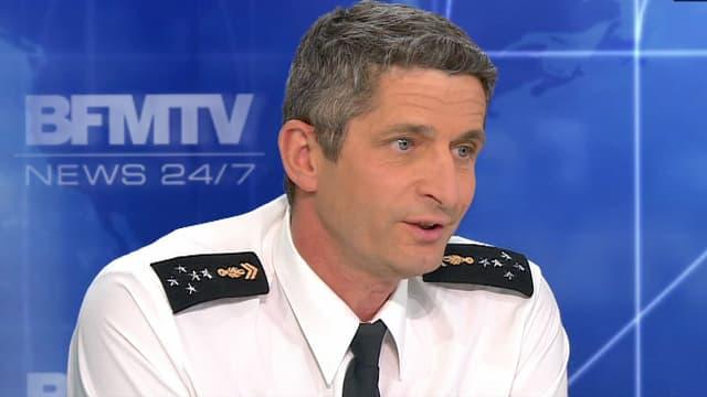 Le directeur général de la gendarmerie était l'invité de BFMTV, le 29 octobre.