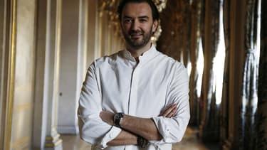 Cyril Lignac en janvier 2016, à l'Hôtel de Ville de Paris.