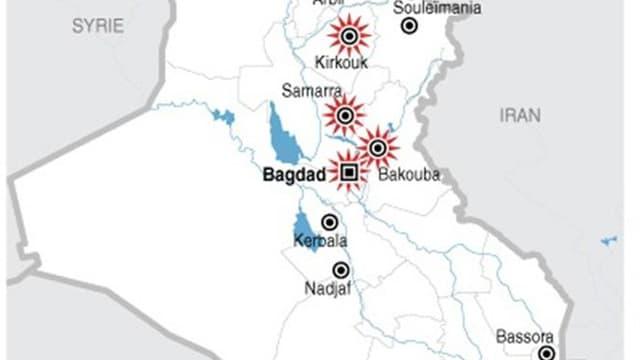 EXPLOSIONS EN SÉRIE À TRAVERS L?IRAK