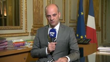 Le ministre de l'Education nationale, Jean-Michel Blanquer, le 22 novembre 2017