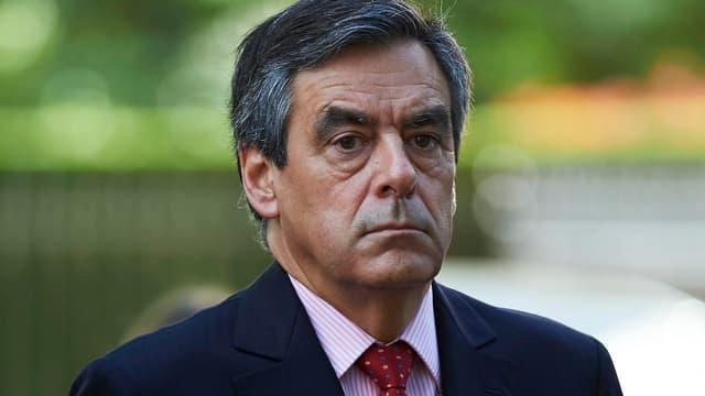 François Fillon, le 18 juin 2015 - Niklas Halle'n - AFP