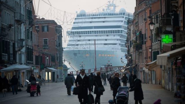 Venise a interdit que les paquebots s'approchent de la célèbre place Saint-Marc