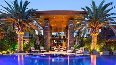 Le plus célèbre des illusionnistes a déboursé 16 millions d'euros pour s'offrir cette immense villa contemporaine.
