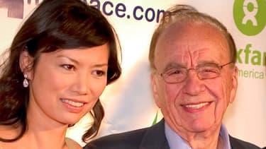 Rupert Murdoch et Wendi Deng