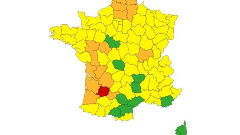 Crues: le Lot-et-Garonne toujours en vigilance rouge, 15 départements en orange