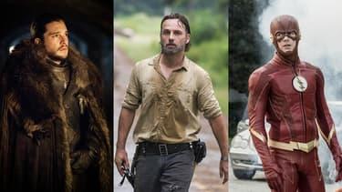 """""""Game of Thrones"""", """"The Walking Dead"""" et """"The Flash"""", les trois séries les plus piratées en 2017."""