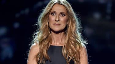 Céline Dion à l'occasion des American Music Awards 2015
