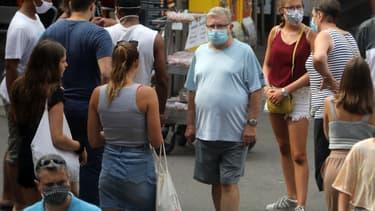 À Argeles-sur-mer, il est désormais obligatoire de porter un masque dans la rue.