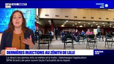 Lille: le vaccinodrome du Zénith ferme ses portes