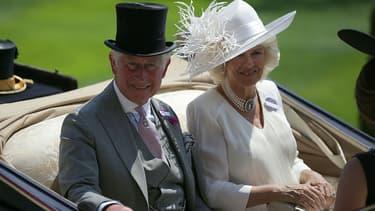 Le prince Charles et Camilla le 20 juin 2017