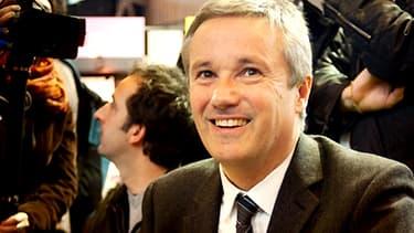 Nicolas Dupont-Aignan, président de Debout la République, en mars 2012.