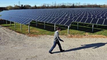 EDF Énergies Nouvelles a racheté à son concurrent canadien 80% du futur parc  solaire Pirapora. (image d'illustration)