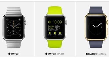 L'Apple Watch se déclinera en trois versions: classique, sport et haut de gamme.