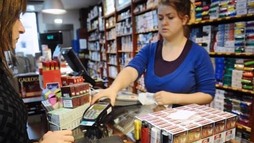 Les ventes de cigarettes ont reculé de près de 9% au premier trimestre.